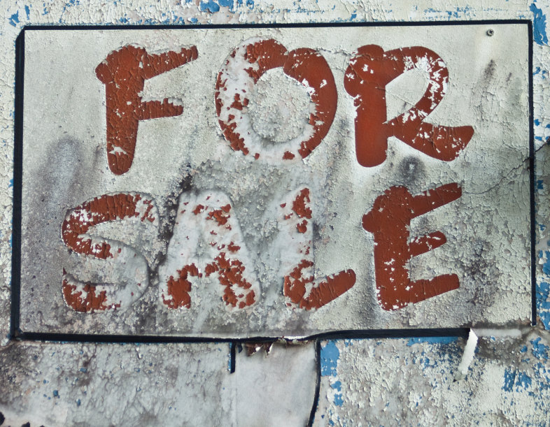 For Sale Sign_Tattered