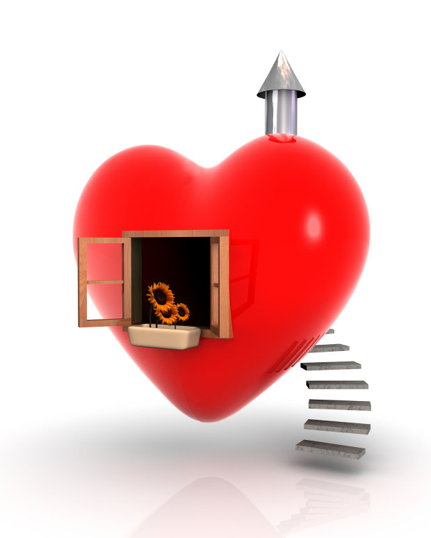 Heart With Chimney